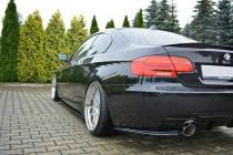 Maxton Design Boční lišty zadního nárazníku BMW 3 E92 Facelift M-Paket - texturovaný plast