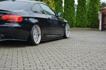 Maxton Design Prahové lišty BMW 3 E92 Facelift M-Paket - texturovaný plast