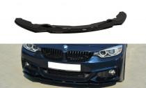 Maxton Design Spoiler předního nárazníku BMW 4 F32 M-Paket V.1 - texturovaný plast