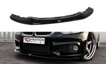 Maxton Design Spoiler předního nárazníku BMW 4 F32 M-Paket V.2 - texturovaný plast