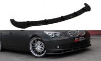 Maxton Design Spoiler předního nárazníku BMW 5 E60/61 Facelift - texturovaný plast