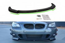 Maxton Design Spoiler předního nárazníku BMW 5 E60/61 M-Paket - texturovaný plast