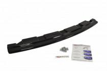 Maxton Design Spoiler zadního nárazníku (2 jednoduché koncovky výfuku) BMW 5 F11 M-Paket V.2 - texturovaný plast
