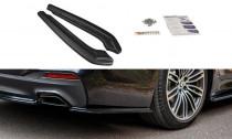 Maxton Design Boční lišty zadního nárazníku BMW 5 G30/G31 M-Paket - texturovaný plast