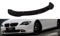 Maxton Design Spoiler předního nárazníku BMW 6 E63/E64 V.1- texturovaný plast