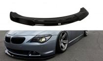Maxton Design Spoiler předního nárazníku BMW 6 E63/E64 V.2- texturovaný plast