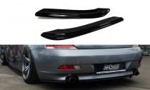 Maxton Design Boční lišty zadního nárazníku BMW 6 E63/E64 - texturovaný plast