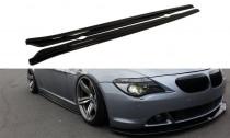 Maxton Design Prahové lišty BMW 6 E63/E64 - texturovaný plast