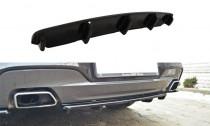 Maxton Design Spoiler zadního nárazníku s příčkami BMW 6 F06 Gran Coupé M-Paket - texturovaný plast