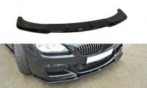 Maxton Design Spoiler předního nárazníku BMW 6 F06 Gran Coupé M-Paket - texturovaný plast