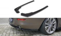 Maxton Design Boční lišty zadního nárazníku BMW 6 F06 Gran Coupé - texturovaný plast