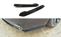 Maxton Design Boční lišty zadního nárazníku BMW 6 F06 Gran Coupé M-Paket - texturovaný plast