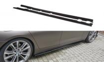 Maxton Design Prahové lišty BMW 6 F06 Gran Coupé - texturovaný plast
