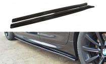 Maxton Design Prahové lišty BMW 6 F06 Gran Coupé M-Paket - texturovaný plast