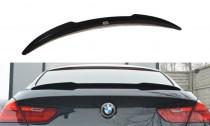 Maxton Design Lišta víka kufru BMW 6 F06 Gran Coupé M-Paket - texturovaný plast