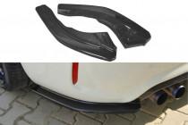 Maxton Design Boční lišty zadního nárazníku BMW M2 F87 - texturovaný plast