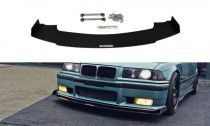 Maxton Design Spoiler předního nárazníku Racing BMW M3 E36 - texturovaný plast