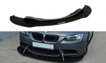 Maxton Design Spoiler předního nárazníku Racing BMW M3 E92 - texturovaný plast