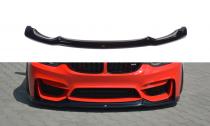 Maxton Design Spoiler předního nárazníku BMW M3 F80 - texturovaný plast