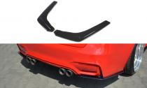 Maxton Design Boční lišty zadního nárazníku BMW M3 F80 - texturovaný plast