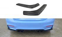 Maxton Design Boční lišty zadního nárazníku BMW M4 F82 - texturovaný plast
