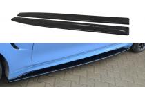Maxton Design Prahové lišty BMW M4 F82 - texturovaný plast