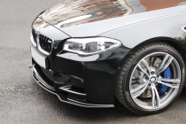 Maxton Design Spoiler předního nárazníku BMW M5 F10 V.2 - texturovaný plast