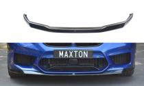 Maxton Design Spoiler předního nárazníku BMW M5 F90 V.1 - texturovaný plast