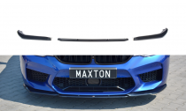 Maxton Design Spoiler předního nárazníku BMW M5 F90 V.2 - texturovaný plast
