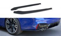Maxton Design Boční lišty zadního nárazníku BMW M5 F90 - texturovaný plast
