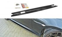 Maxton Design Prahové lišty BMW M6 E63 - texturovaný plast