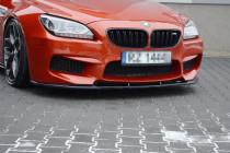 Maxton Design Spoiler předního nárazníku BMW M6 F06 V.1 - texturovaný plast