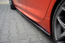 Maxton Design Prahové lišty BMW M6 F06 - texturovaný plast