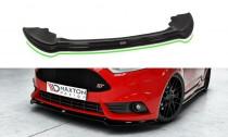 Maxton Design Spoiler předního nárazníku Ford Fiesta ST Mk7 Facelift V.4 - texturovaný plast