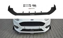 Maxton Design Spoiler předního nárazníku Racing Ford Fiesta ST Mk8 V.1