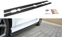 Maxton Design Prahové lišty Ford Fiesta ST Mk8 - texturovaný plast