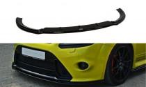 Maxton Design Spoiler předního nárazníku Ford Focus RS Mk2 V.2 - texturovaný plast