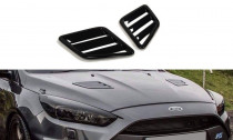 Maxton Design Výdechy kapoty Ford Focus RS Mk3 - texturovaný plast