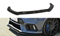 Maxton Design Spoiler předního nárazníku Ford Focus RS Mk3 V.4 - texturovaný plast