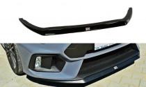 Maxton Design Spoiler předního nárazníku Ford Focus RS Mk3 V.2 - texturovaný plast
