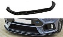 Maxton Design Spoiler předního nárazníku Ford Focus RS Mk3 V.3 - texturovaný plast