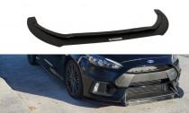 Maxton Design Spoiler předního nárazníku Ford Focus RS Mk3 V.1 - texturovaný plast