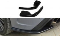 Maxton Design Boční lišty zadního nárazníku Ford Focus RS Mk3 - texturovaný plast