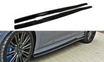 Maxton Design Prahové lišty Ford Focus RS Mk3 - texturovaný plast