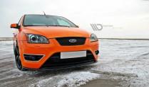 Maxton Design Spoiler předního nárazníku Ford Focus ST Mk2 V.2 - texturovaný plast
