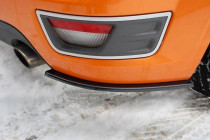 Maxton Design Boční lišty zadního nárazníku Ford Focus ST Mk2 - texturovaný plast