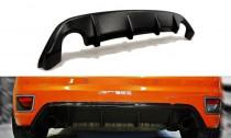 Maxton Design Spoiler zadního nárazníku Ford Focus ST Mk2 - texturovaný plast