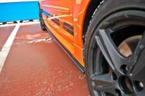 Maxton Design Prahové lišty Ford Focus ST Mk2 - texturovaný plast