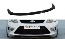 Maxton Design Spoiler předního nárazníku Ford Focus ST Mk2 Facelift - texturovaný plast