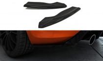 Maxton Design Boční lišty zadního nárazníku Ford Focus ST Mk2 Facelift V.2 - texturovaný plast